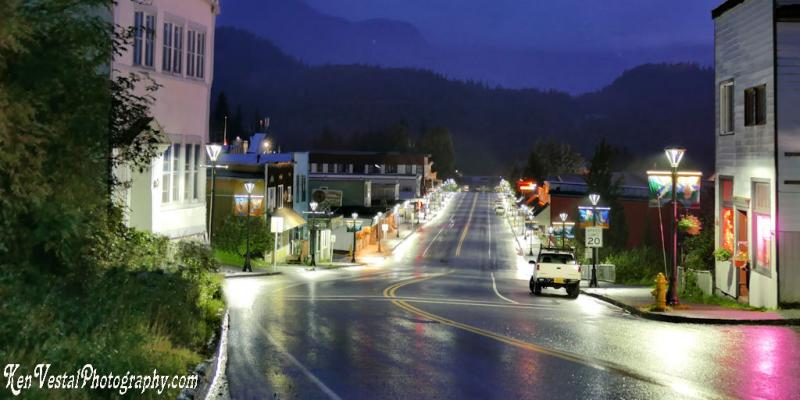 cordova-alaska-main-street-at-night
